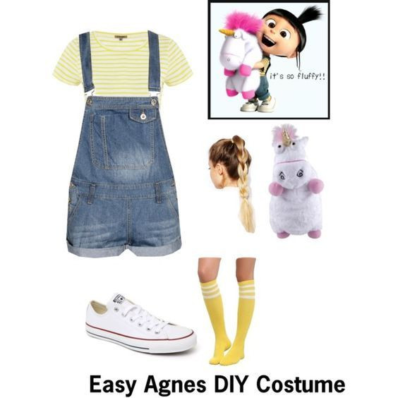 DIY Cartoon Costumes  Agnes from Despicable Me DIY Costume
