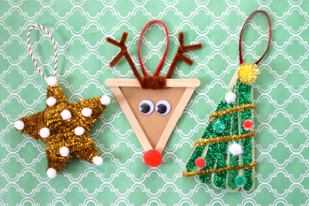DIY Christmas Craft For Kids  Christmas DIY Kids Ornaments Evite