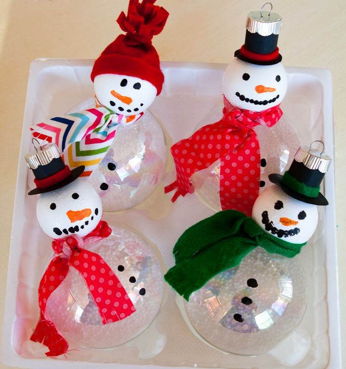 DIY Christmas Craft For Kids  Super Fun Kids Crafts Homemade Christmas Ornaments For