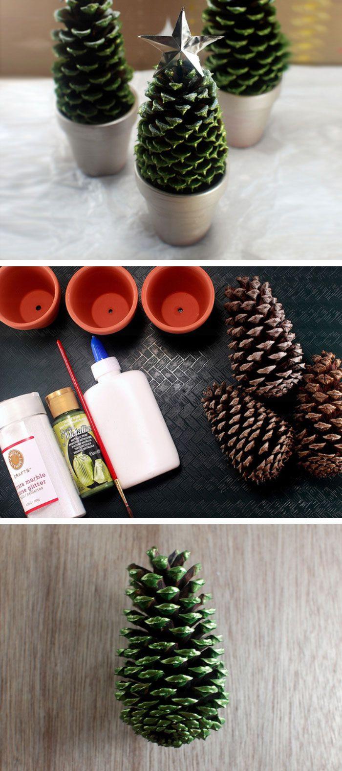 DIY Christmas Decor Pinterest  25 best ideas about Diy christmas decorations on