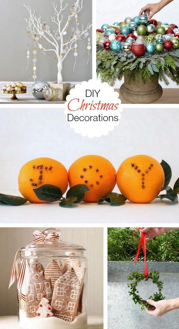 DIY Christmas Decor Pinterest  Diy Christmas Decorations Pinterest