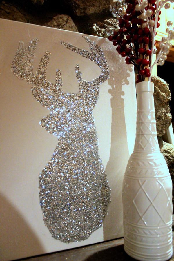 DIY Christmas Decor Pinterest  Awesome Glitter DIYs for Holiday Decoration