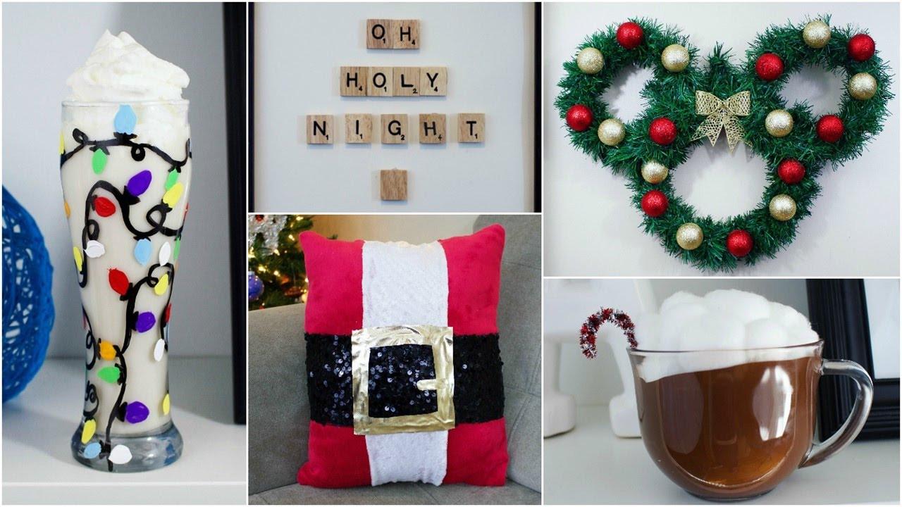 DIY Christmas Decor Pinterest  CHEAP & EASY DIY CHRISTMAS DECOR IDEAS