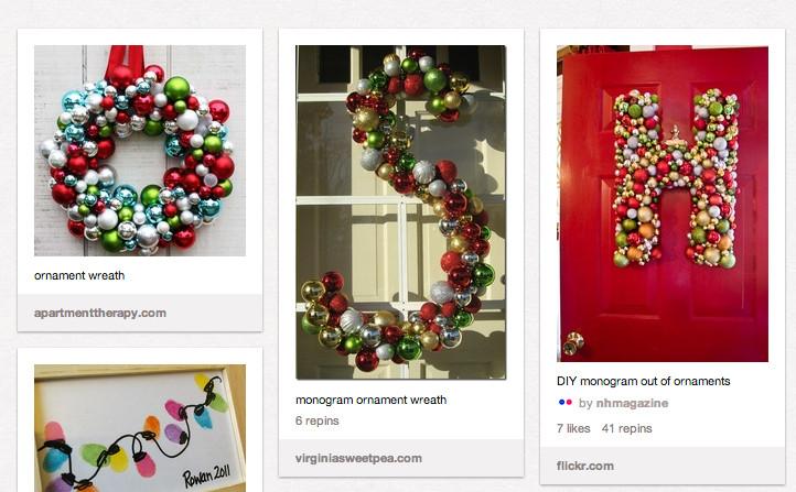 DIY Christmas Decor Pinterest  DIY Christmas Decor Wreath C R A F T