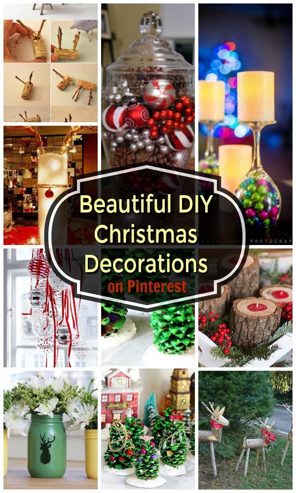 DIY Christmas Decor Pinterest  22 Beautiful DIY Christmas Decorations on Pinterest