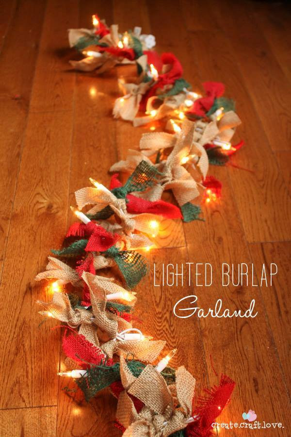 DIY Christmas Decorations  60 of the BEST DIY Christmas Decorations Kitchen Fun