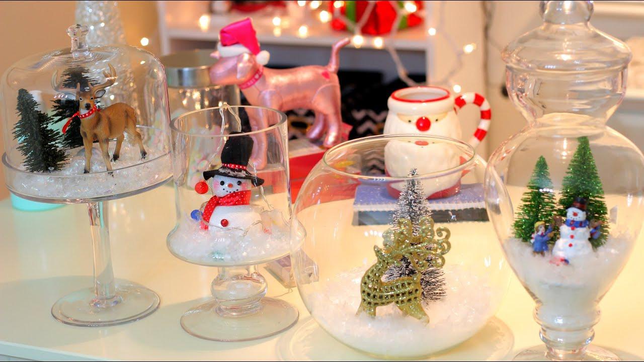 DIY Christmas Decorations  DIY Christmas Winter Room Decor Christmas Jars