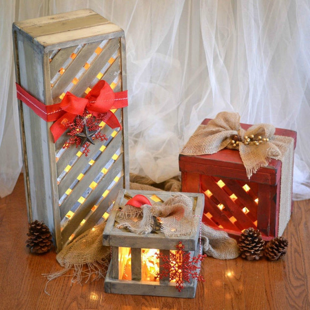 DIY Christmas Decorations  Make Your Porch Look Amazing With These DIY Christmas