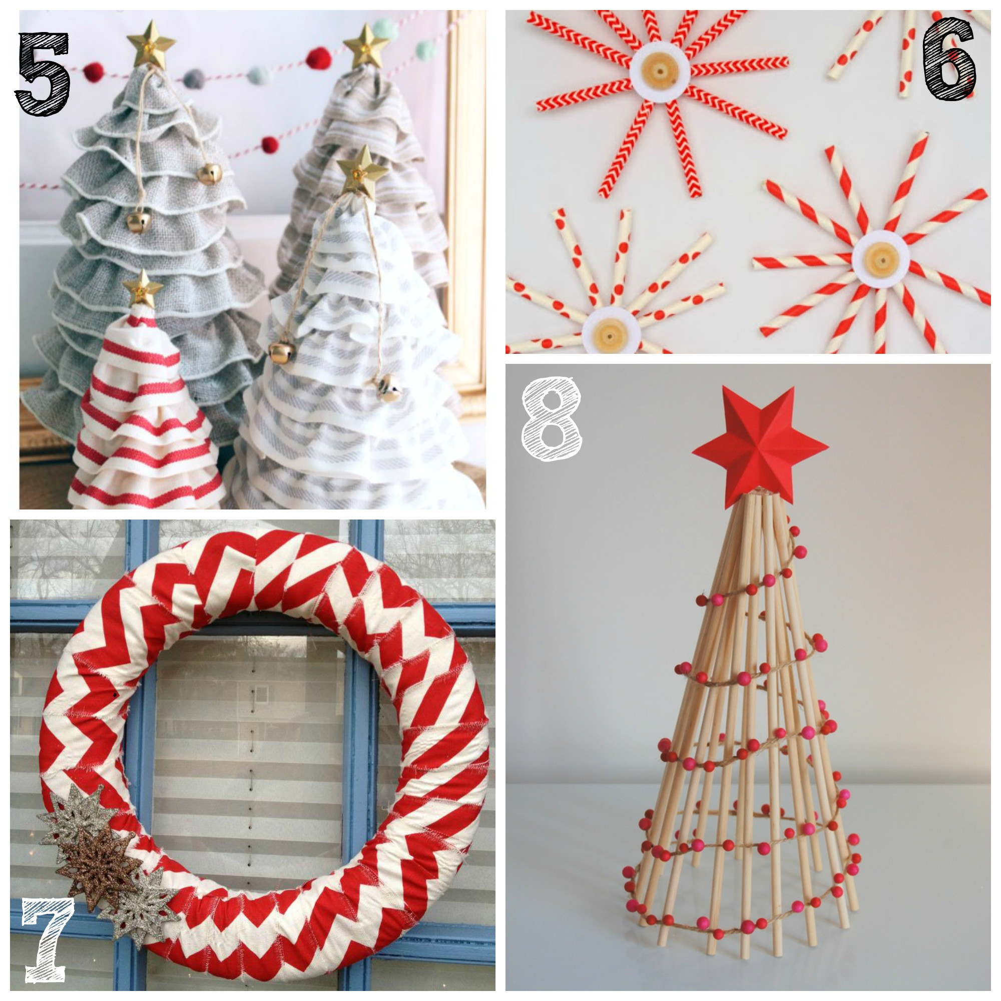 DIY Christmas Decorations  CANT TAKE UR EYES OF THE BEAUTIFUL HANDMADE CHRISTMAS