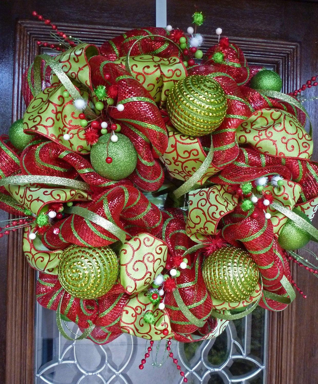 DIY Christmas Garland Ideas  WHIMSICAL CHRISTMAS WREATH 24