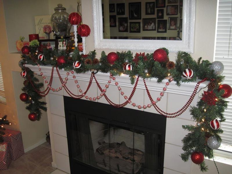 DIY Christmas Garland Ideas  DIY Christmas Garland Tutorials And Ideas Quiet Corner