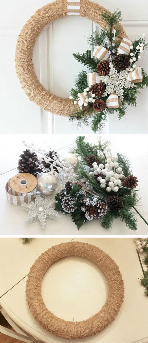 DIY Christmas Garland Ideas  20 Homemade Christmas Decoration Ideas & Tutorials Hative