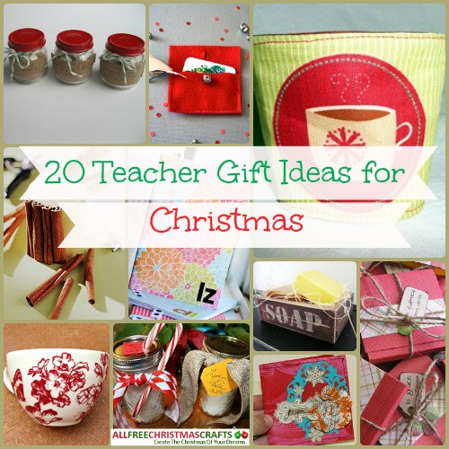 DIY Christmas Gift For Teachers  20 Teacher Gift Ideas for Christmas