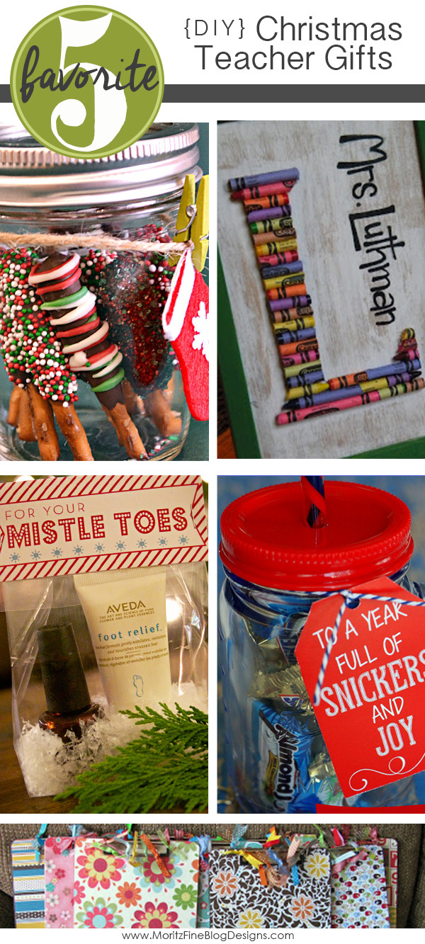 DIY Christmas Gift For Teachers  DIY Teacher Christmas Gifts