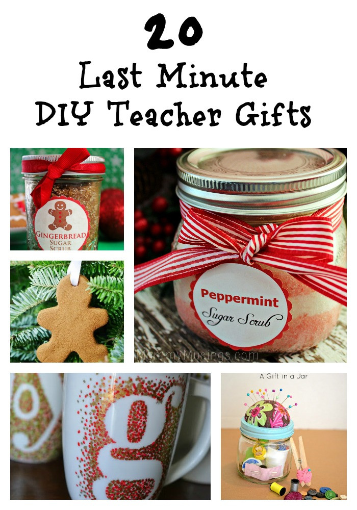 DIY Christmas Gift For Teachers  20 Last Minute DIY Teacher Gifts diy ts Trippin