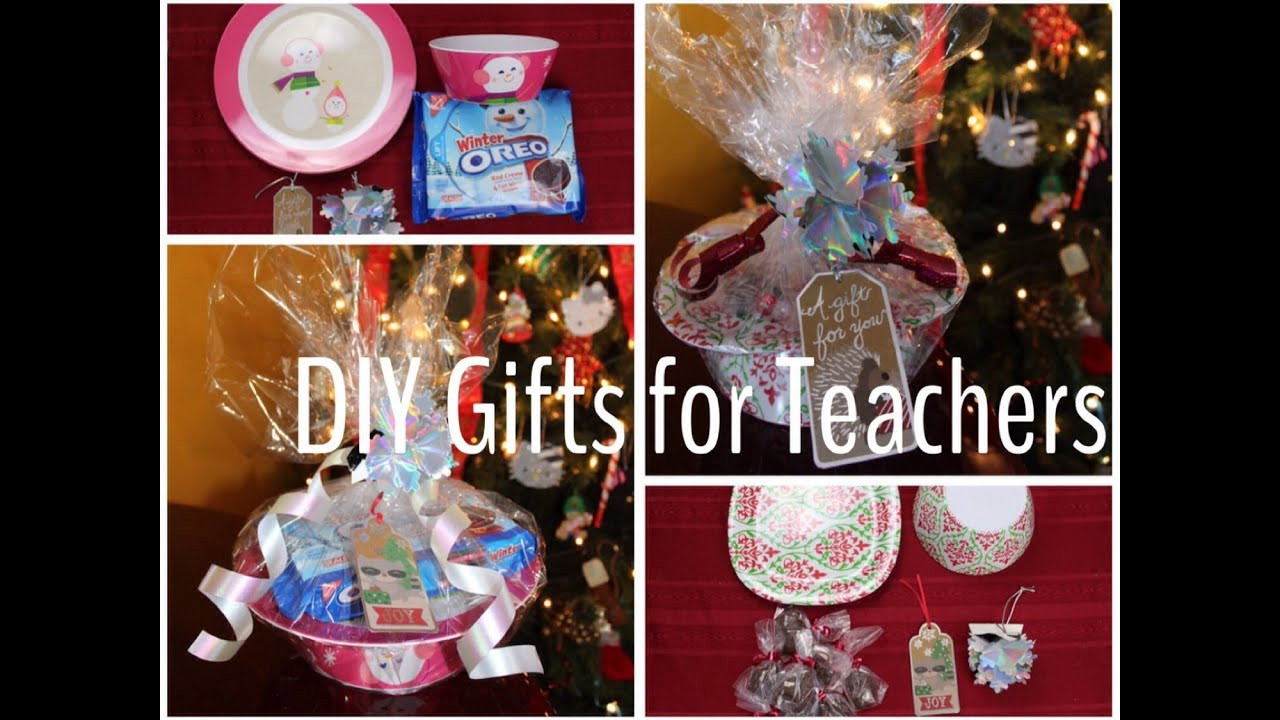 DIY Christmas Gift For Teachers  DIY Christmas Gifts for Teachers Bud Friendly