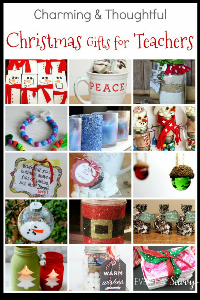 DIY Christmas Gift For Teachers  Teacher Christmas Gift Ideas Easy to Buy or DIY Gifts