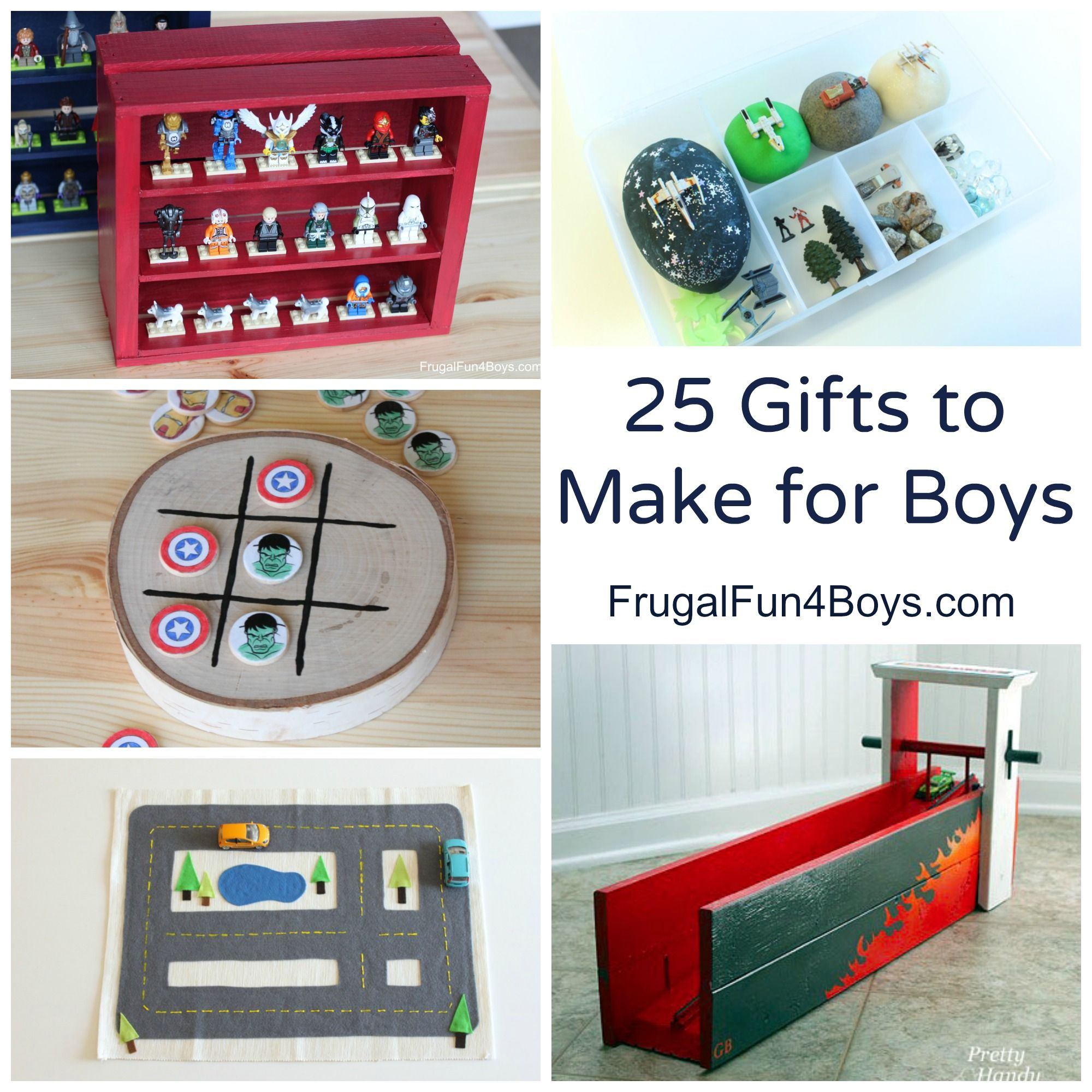 DIY Christmas Gifts For Boy  25 More Homemade Gifts to Make for Boys