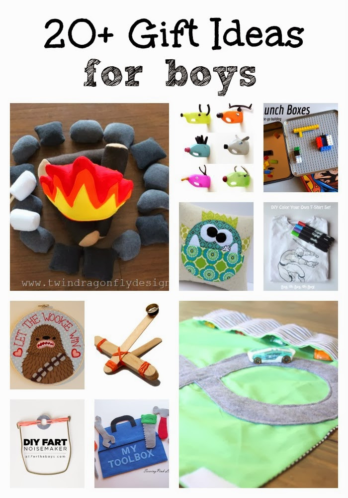 DIY Christmas Gifts For Boy  20 DIY Gift Ideas for Boys Dragonfly Designs