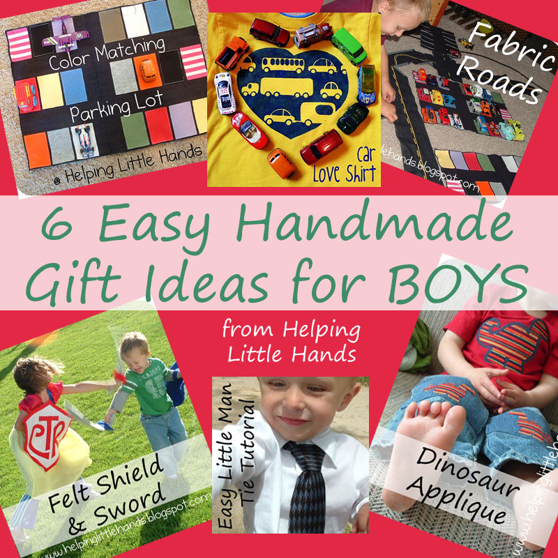 DIY Christmas Gifts For Boy  Pieces by Polly 6 Easy Handmade Gift Ideas for BOYS