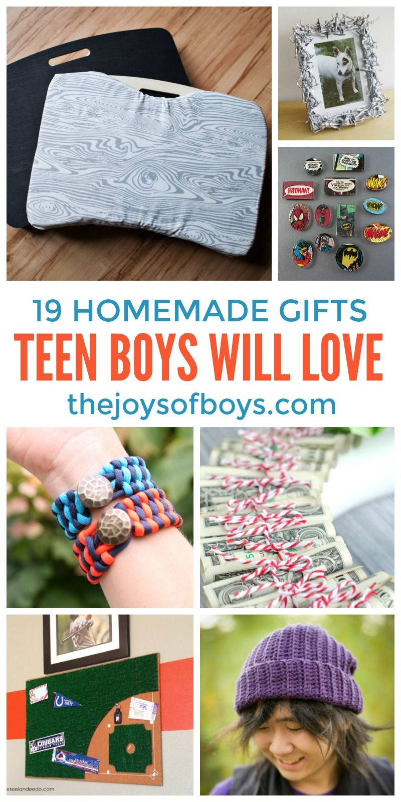 DIY Christmas Gifts For Boy  DIY Gifts Teen Boys Will Love Homemade Gifts For Teen