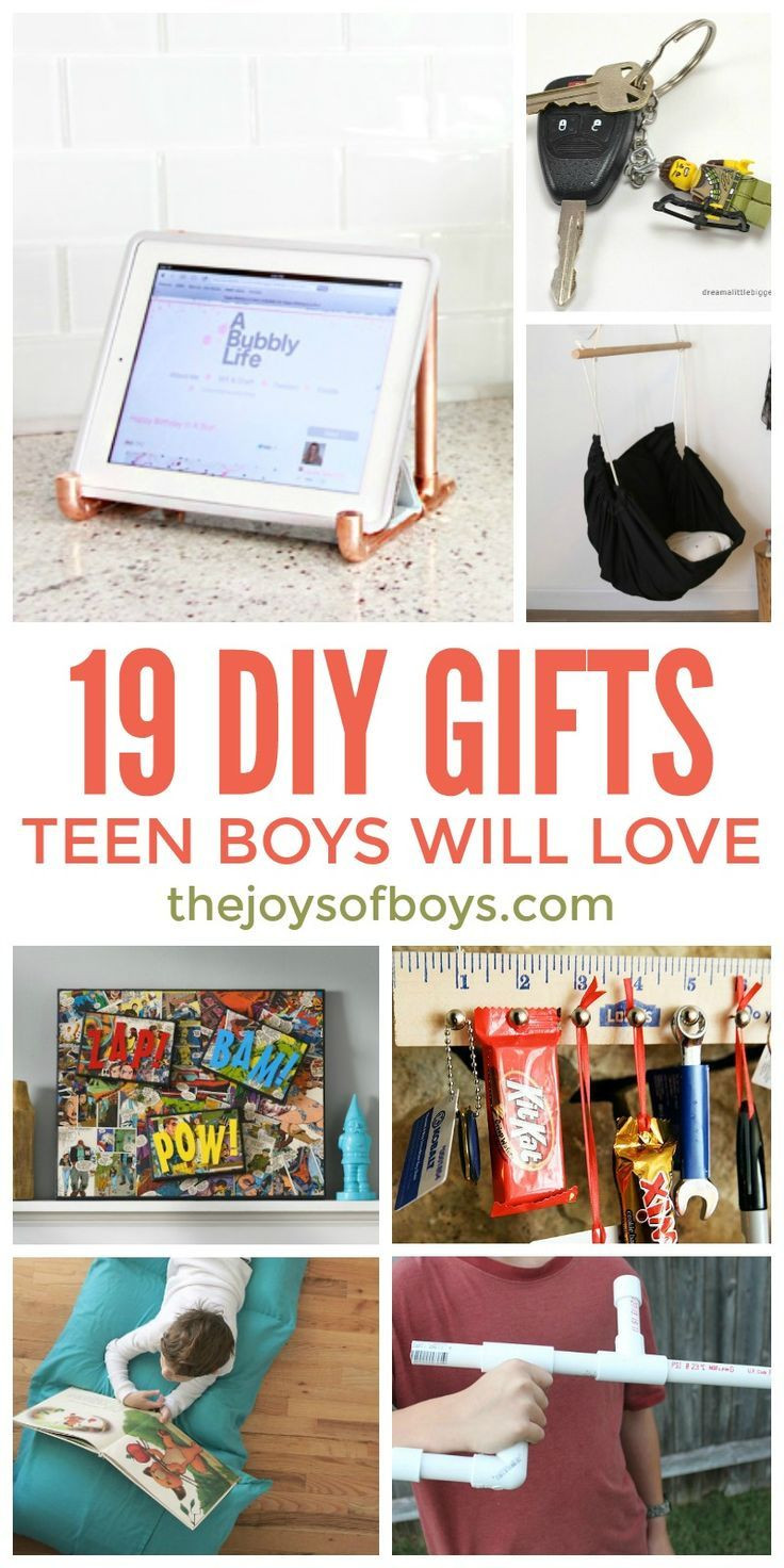 DIY Christmas Gifts For Boy  DIY Gifts Teen Boys Will Love Homemade Gifts For Teen Boys