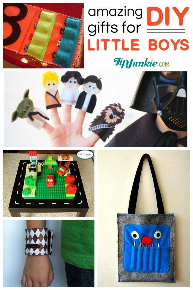 DIY Christmas Gifts For Boy  40 Awesome DIY Gifts for little boys