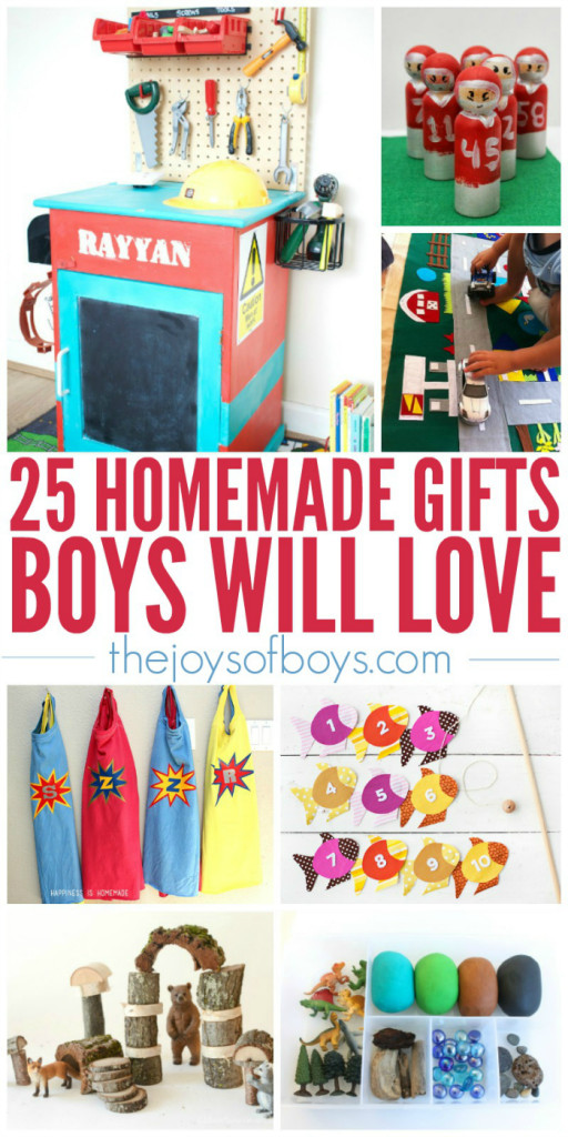 DIY Christmas Gifts For Boy  25 Homemade Gifts Boys Will Love