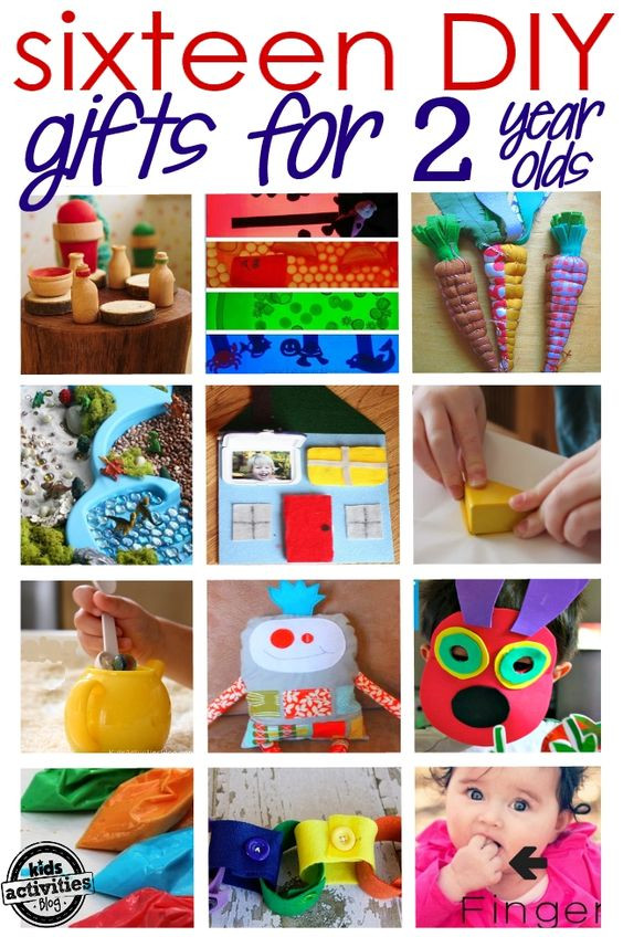 DIY Christmas Gifts For Boy  16 Adorable Homemade Gifts for a 2 Year Old