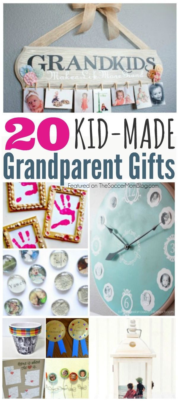 DIY Christmas Gifts For Grandma  20 Kid Made Grandparent Gifts They ll Treasure Forever