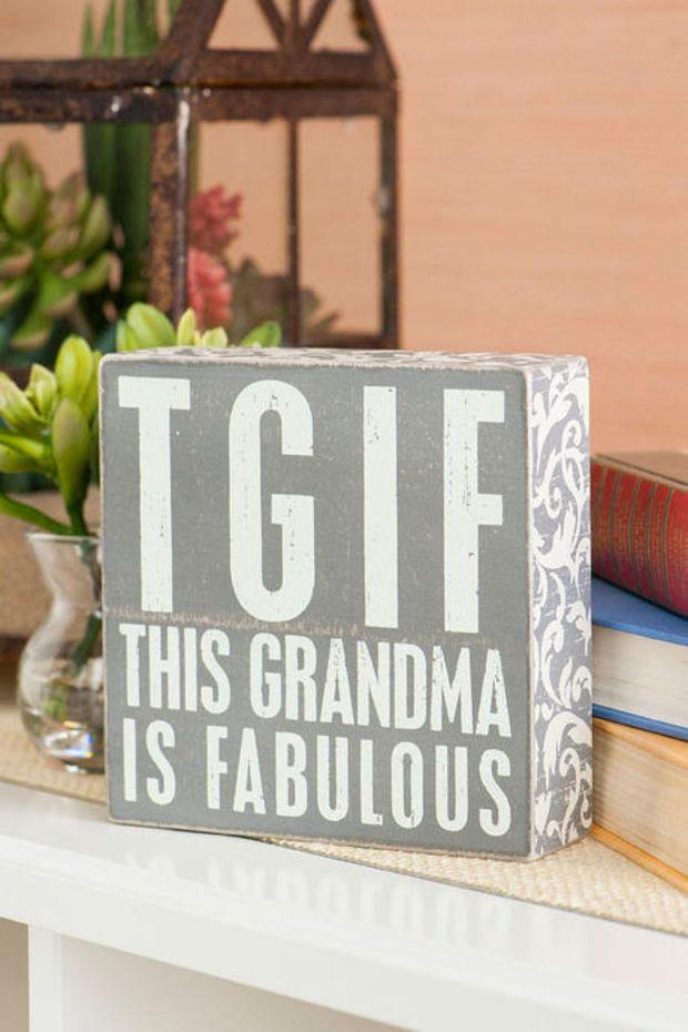 DIY Christmas Gifts For Grandma  Best 25 Gifts for grandma ideas on Pinterest