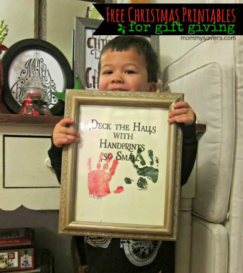 DIY Christmas Gifts For Grandma  Handprint Picture Homemade Christmas Gifts The Happy