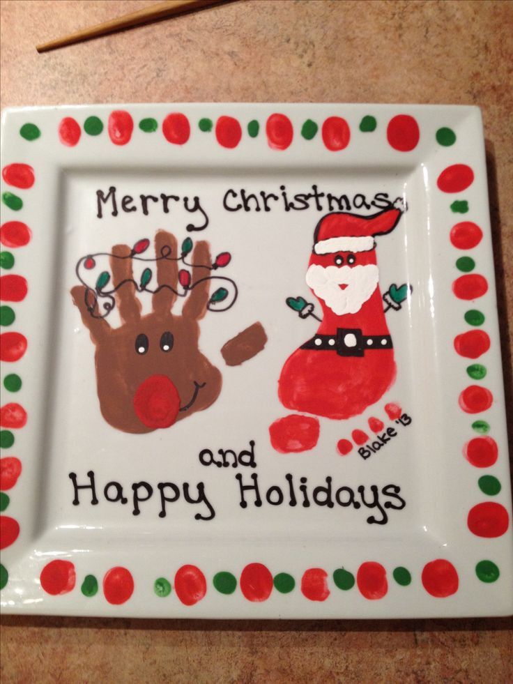DIY Christmas Gifts For Grandma  1018 best images about Kids Handprint & Footprint Crafts