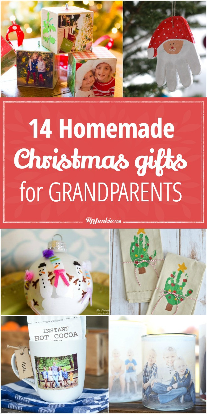 DIY Christmas Gifts For Grandma  14 Homemade Christmas Gifts for Grandparents – Tip Junkie