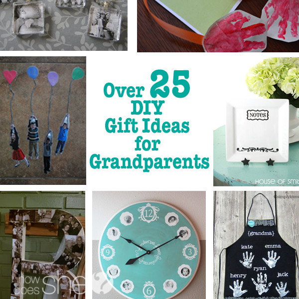 DIY Christmas Gifts For Grandma  Gift Ideas for Grandparents That Solve The Grandparent