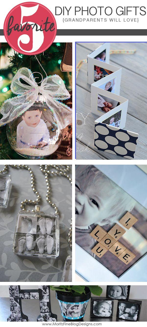 DIY Christmas Gifts For Grandma  DIY Gift Ideas for Grandparents