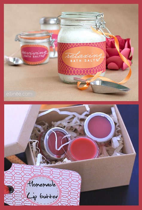 DIY Christmas Gifts For Her  DIY Bath & Beauty Gift Ideas Handmade DIY Gifts for Her