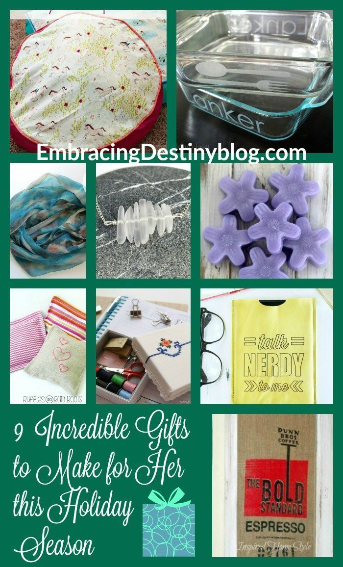 DIY Christmas Gifts For Her  9 Unique DIY Gifts for Her