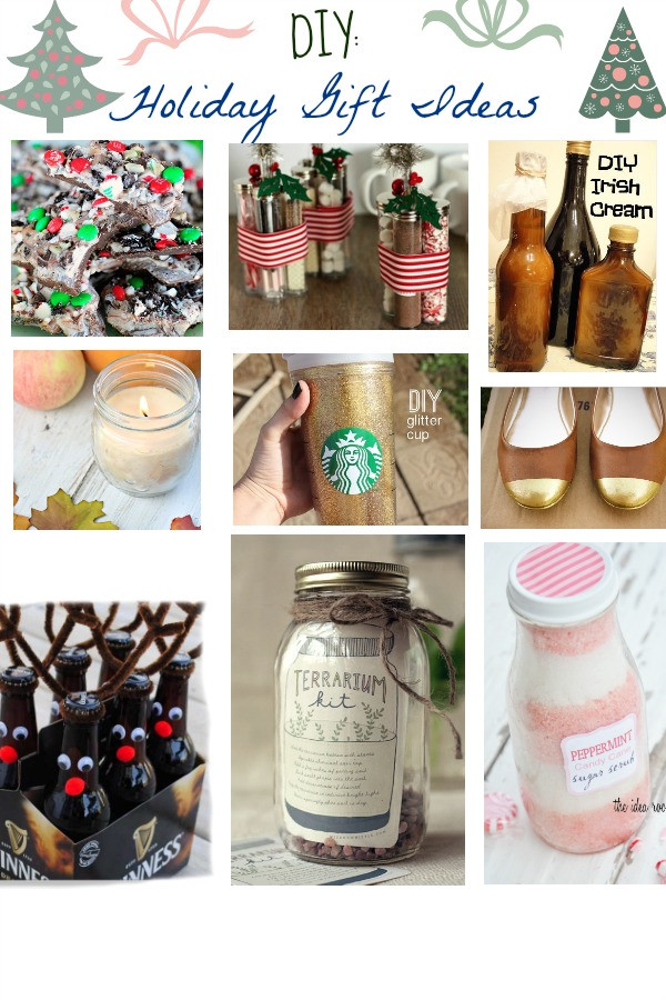 DIY Christmas Gifts For Her  DIY Holiday Gift Guide Homemade Gifts Anyone Can Do