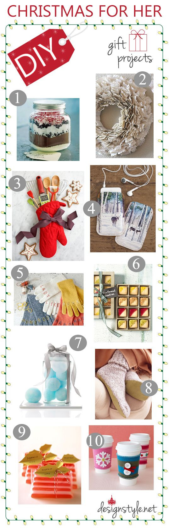 DIY Christmas Gifts For Her  DIY Christmas Gift Ideas For Her & Him