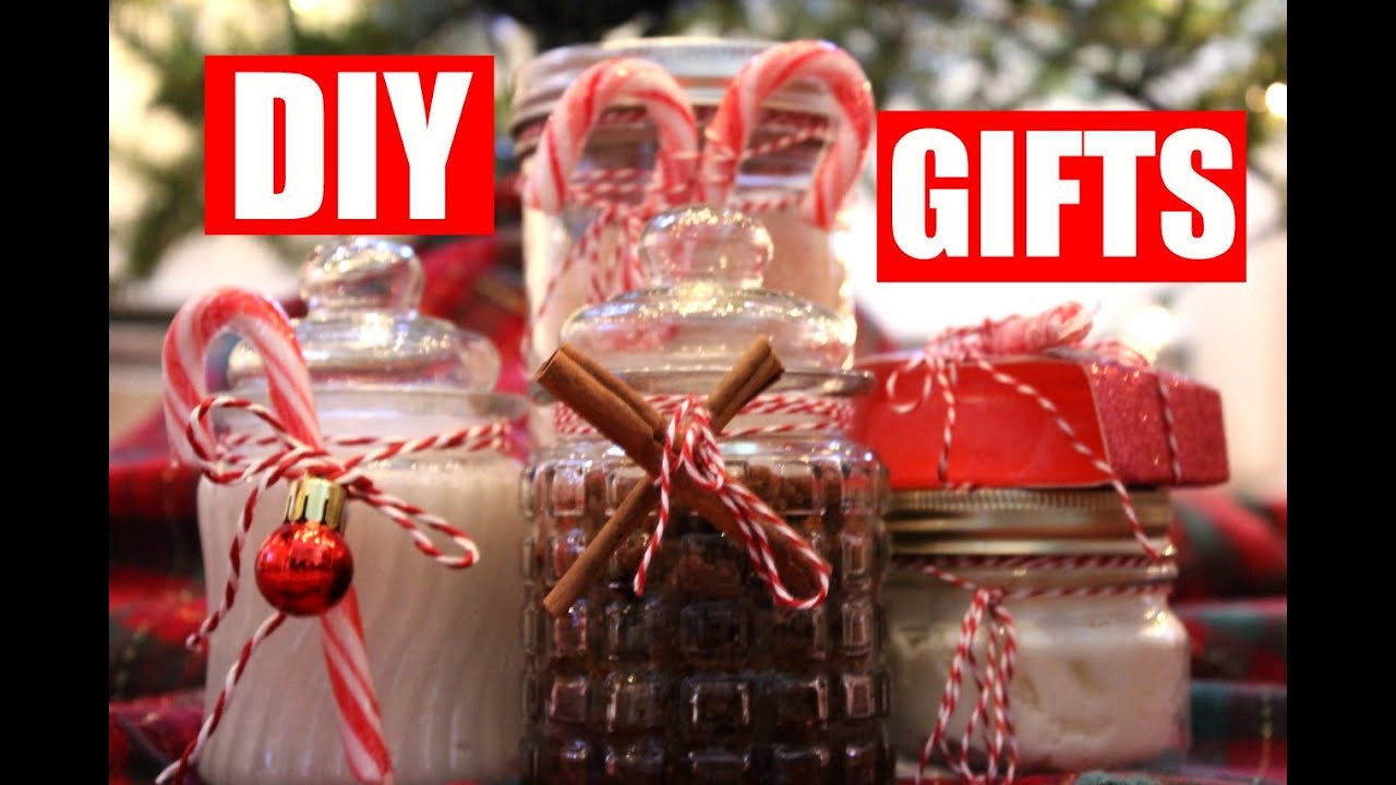 DIY Christmas Gifts For Her  5 Easy DIY Christmas Gift Ideas DIY Beauty Gifts for Her