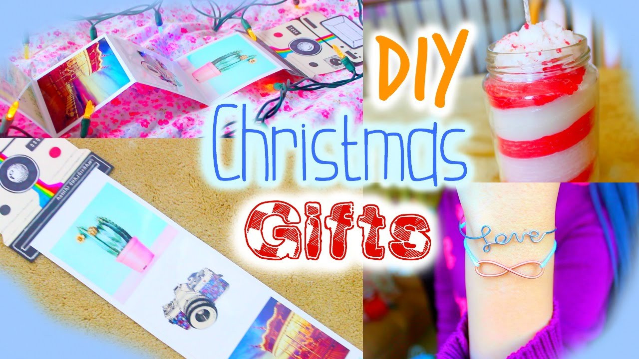 DIY Christmas Gifts For Mom  DIY Christmas Gifts for Friends Mom Teachers Boyfriends