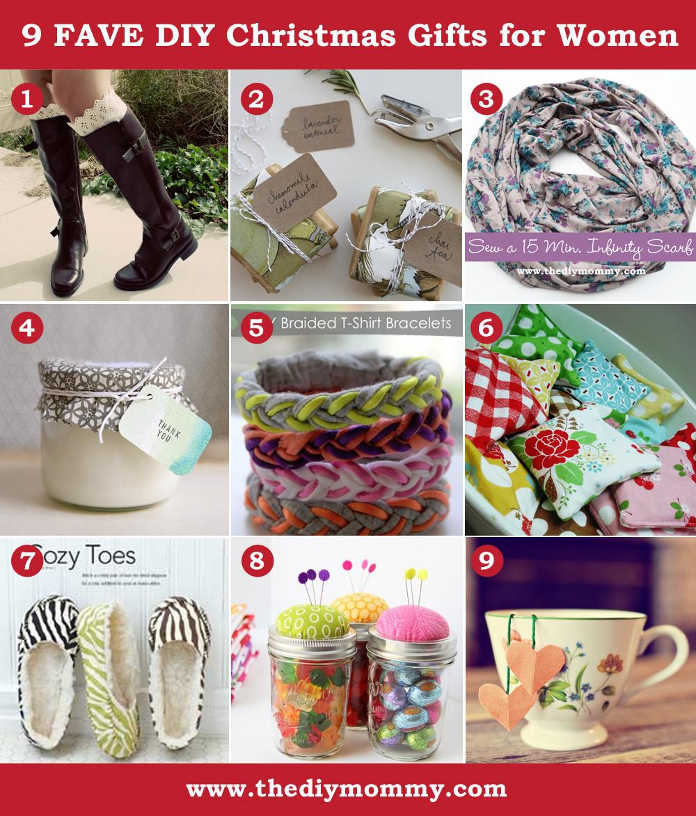 DIY Christmas Gifts For Mom  A Handmade Christmas DIY Gifts for Women