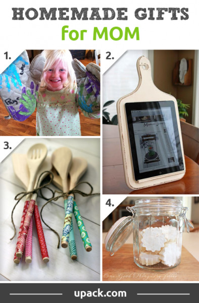DIY Christmas Gifts For Mom  Homemade Christmas Gift Ideas For Kids Mom Dad Friends