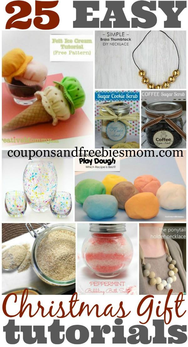 DIY Christmas Gifts For Mom  DIY Christmas Gifts Collage Coupons and Freebies Mom