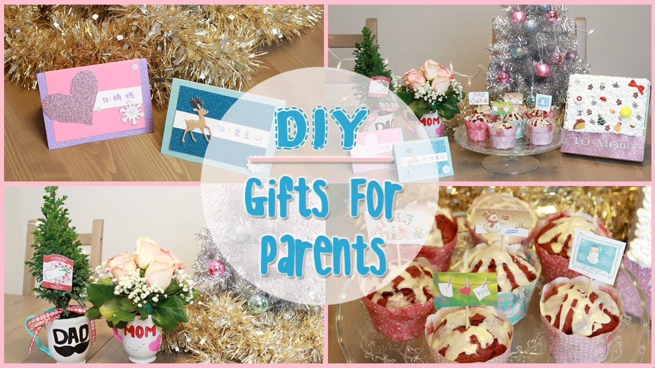 DIY Christmas Gifts For Mom  DIY Holiday Gift Ideas for Parents