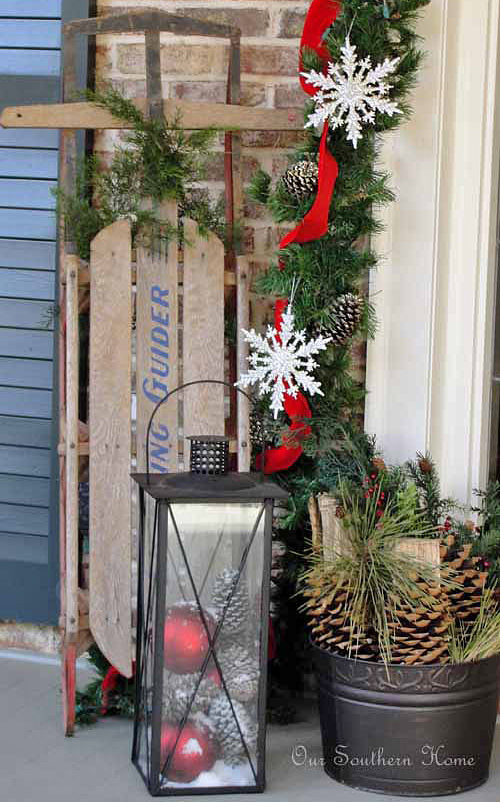 DIY Christmas Outdoor Decorations  DIY Outdoor Christmas Decorating