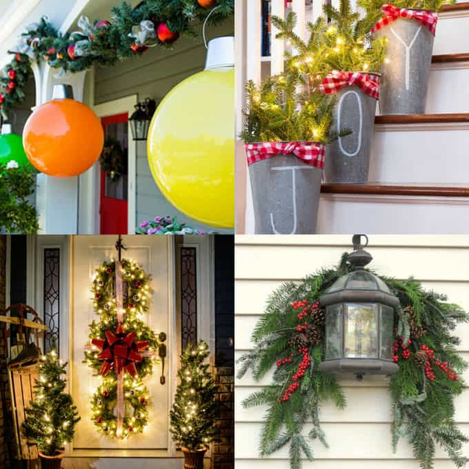 DIY Christmas Outdoor Decorations  Gorgeous Outdoor Christmas Decorations 32 Best Ideas