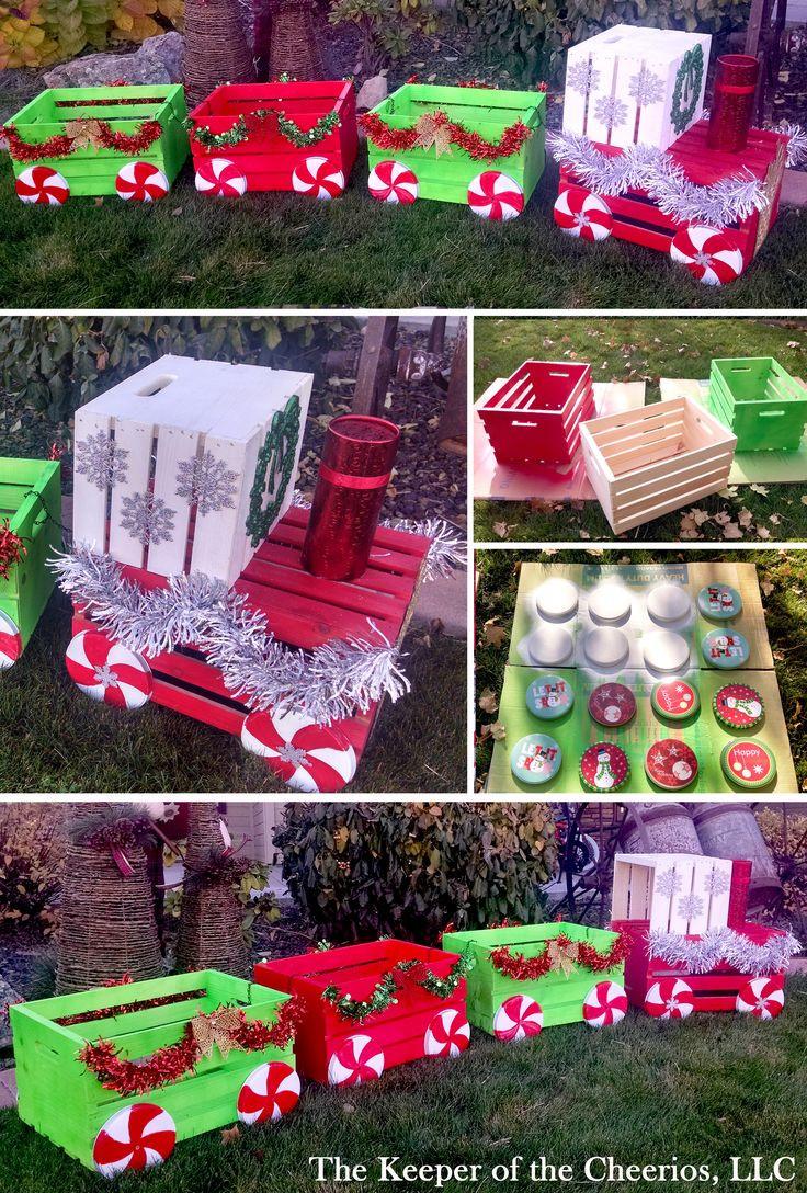 DIY Christmas Outdoor Decorations  Best 25 Outdoor christmas decorations ideas on Pinterest