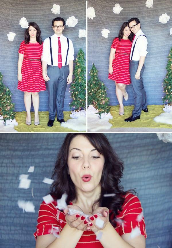 DIY Christmas Photography Backdrops  DIY Holiday Backdrop